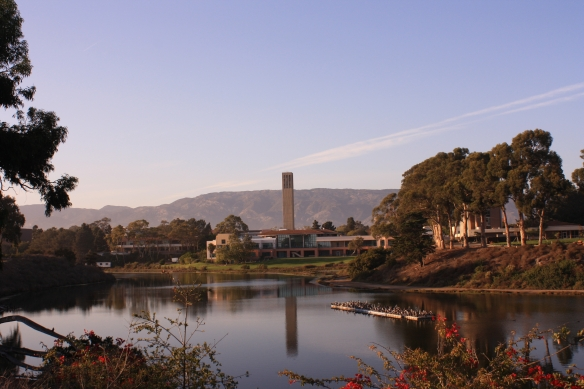 View of the breathtaking UCSB campus.