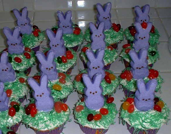 My friend's Easter Cupcakes