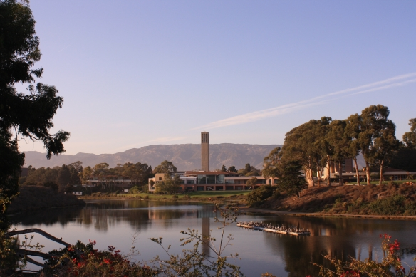 One of the most beautiful campuses ever. UCSB