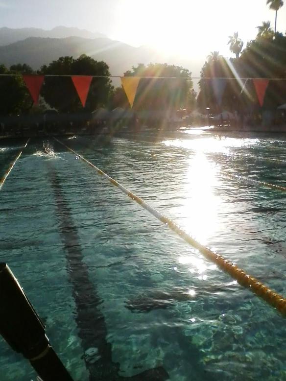 Where I swim Masters.
