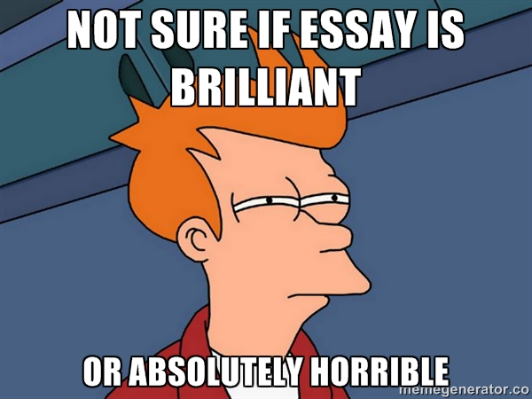 Is it too off-the-wall to write a college admissions essay as an open letter?
